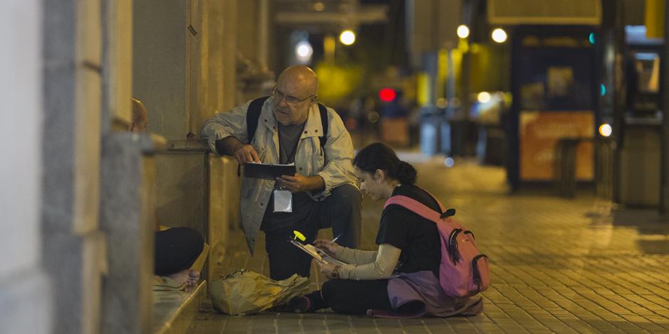 Resultats del cens de persones sense llar a Barcelona