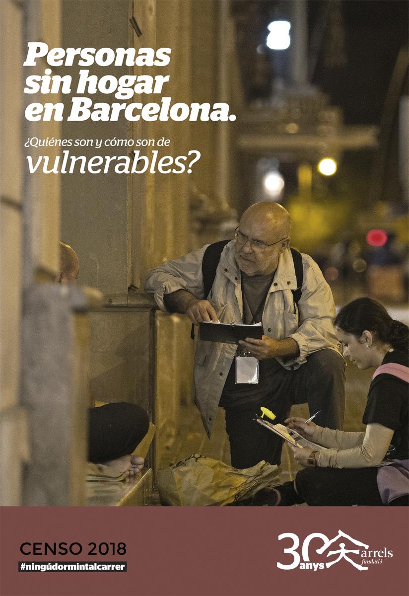 Censo de personas que viven en la calle en Barcelona 2018