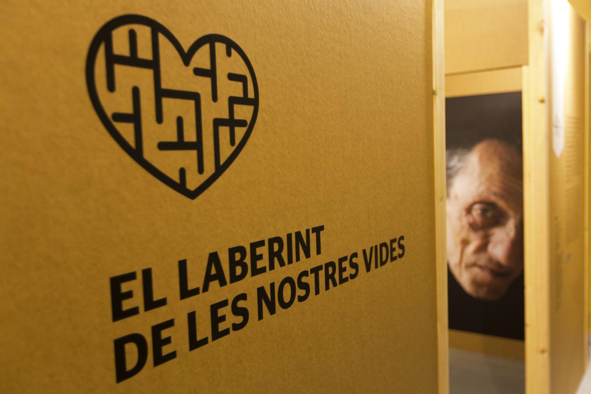 Exposició 'El laberint de les nostres vides'