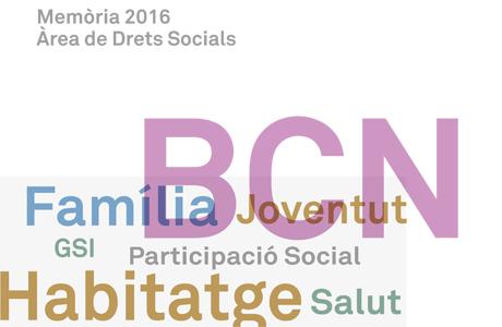Memòria Àrea de Drets Socials 2016