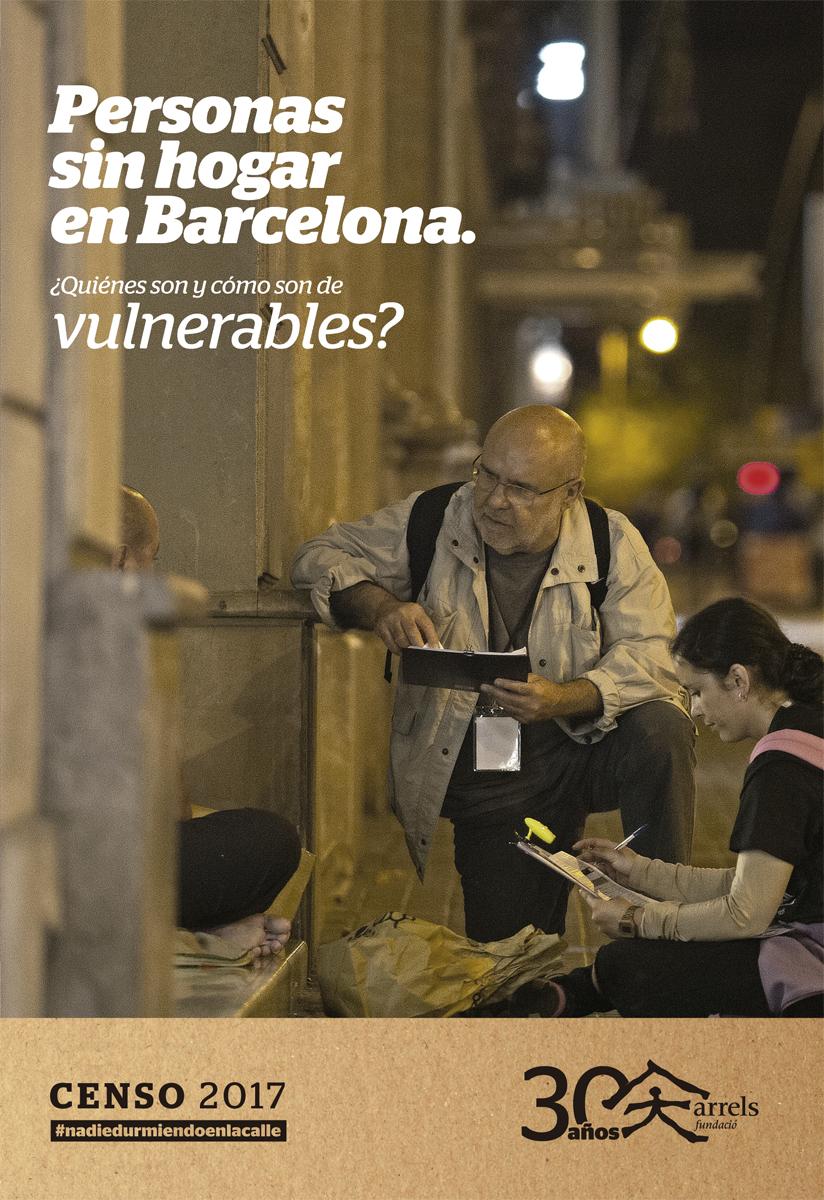 Censo de personas que viven en la calle en Barcelona 2017