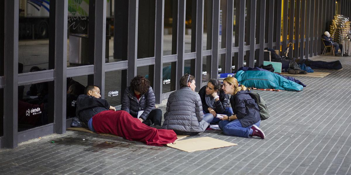 Cens 2019: 339 històries de carrer i 1.195 persones dormint al ras