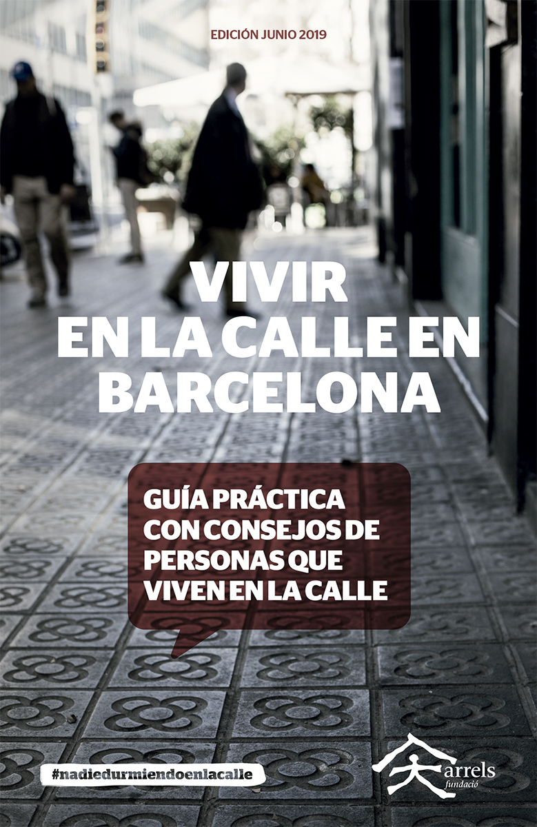 Guide 'Living on the street in Barcelona'