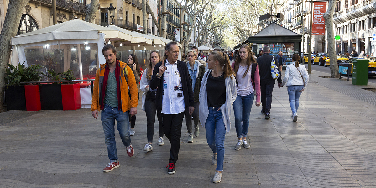 Discover a different side of Barcelona!