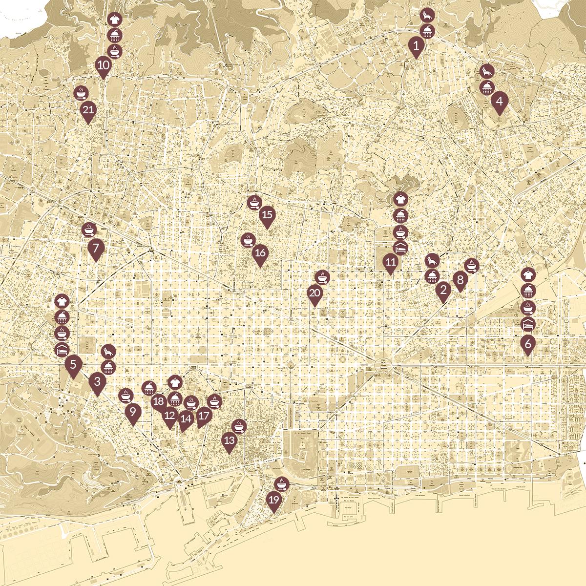 Coronavirus: mapa de recursos para personas que viven en la calle en Barcelona