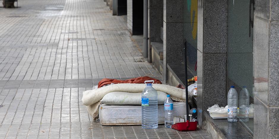 ¿Cómo han vivido las personas que viven en la calle los meses de máximo confinamiento?