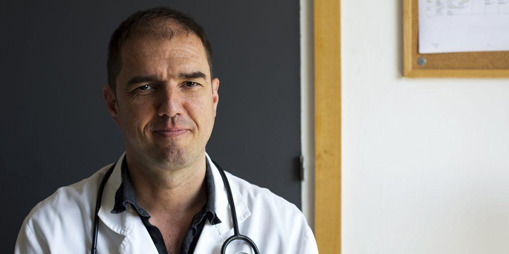 El metge Daniel Roca és expert en salut i sensellarisme