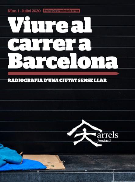 Informe 'Viure al carrer a Barcelona'