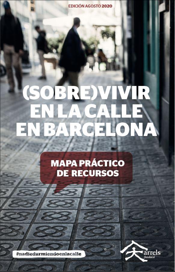 Mapa de recursos 'Sobrevivir en la calle en Barcelona'
