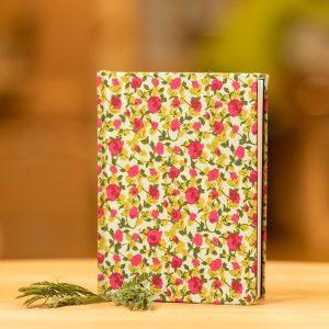 taller Arrels llibreta estampada floral botiga