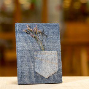 llibreta libreta reciclada texana tejana bolsillo arrels fundació botiga