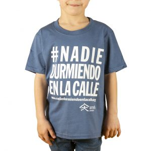 Childrens t-shirt #nadiedurmiendoenlacalle