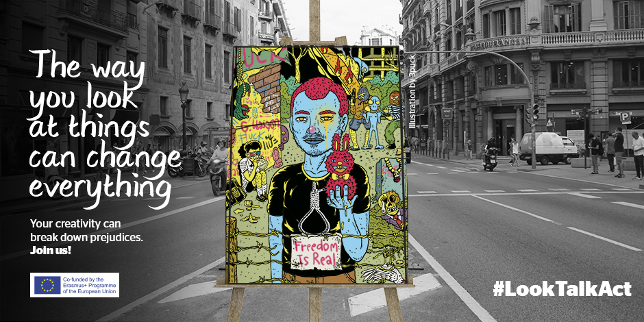 #LookTalkAct: Participate with your art in a European project to break down prejudices that affect homeless people