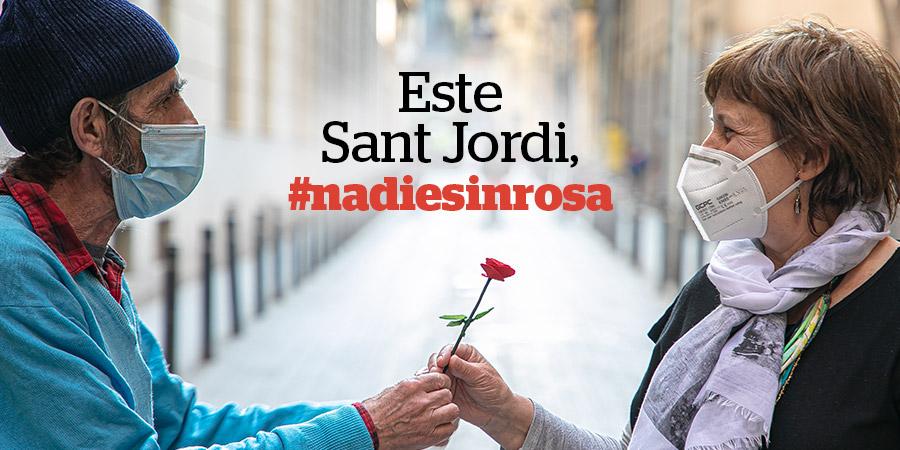 Este Sant Jordi, #nadiesinrosa