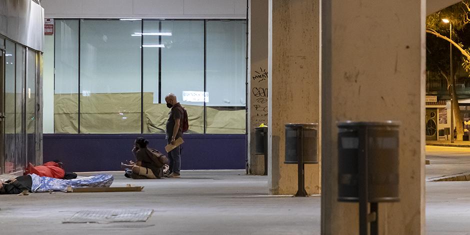 1.064 persones dormen al carrer a Barcelona, el 69% de les quals en una situació de vulnerabilitat alta o mitjana