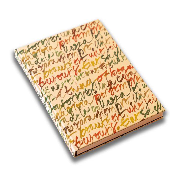 """""""Words"""" hand-bound Notebook"""