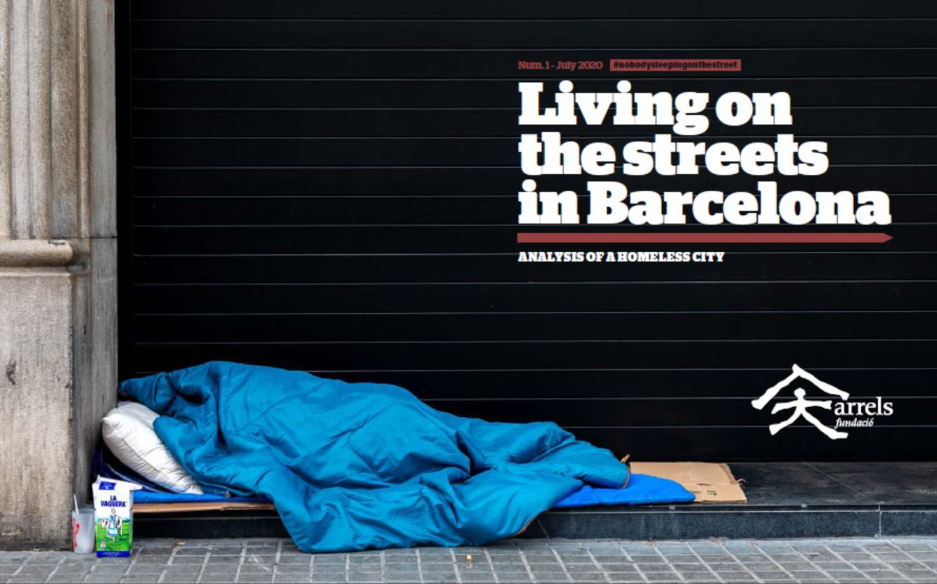 Living on the streets in Barcelona